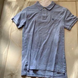 Ralph Lauren Polo Shirt Boys Size (M) 10 - 12 Blue